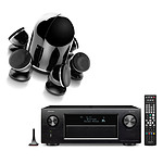 Denon AVR-X4300H Noir + Focal Dôme Pack 5.1 Diamond Black