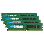 Crucial DDR4 64 Go (4 x 16 Go) 2666 MHz CL19 Dual Rank X8