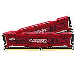 Ballistix Sport 16 Go (2 x 8 Go) DDR4 2666 MHz CL16 - Rouge