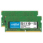 Crucial SO-DIMM DDR4 32 GB (2 x 16 GB) 2666 MHz CL19 Dual Rank X8
