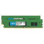 Crucial DDR4 ECC Registered 16 Go (2 x 8 Go) 2666 MHz CL19 SR X8