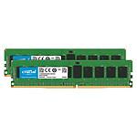 Crucial DDR4 ECC Registered 16 Go (2 x 8 Go) 2666 MHz CL19 Dual Rank X8