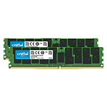 Crucial DDR4 ECC Registered 32 GB (2 x 16 GB) 2666 MHz CL19 Dual Rank X4