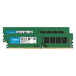 Crucial DDR4 16 Go (2 x 8 Go) 2666 MHz CL19 ECC DR X8