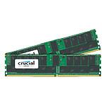 Crucial DDR4 ECC Registered 64 Go (2 x 32 Go) 2666 MHz CL19 Dual Rank X4
