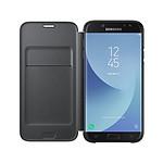 Samsung Flip Wallet negro Galaxy J7 2017
