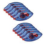 tesa Roller Colle permanente ecoLogo jetable x10
