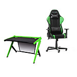 DXRacer Gaming Station (verde)