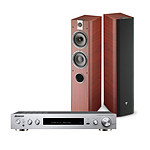Pioneer SX-S30DAB Argent + Focal Chorus 716 Rosewood