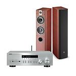 Yamaha MusicCast R-N402D Argent + Focal Chorus 716 Rosewood