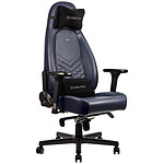 Noblechairs Icon Cuir Blue nuit