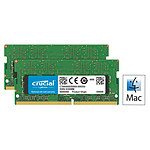 Crucial for Mac SO-DIMM DDR4 16 Go (2 x 8 Go) 2400 MHz CL17
