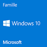 Microsoft Windows 10 Famille 32/64 bits - Version clé USB