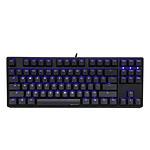 Ducky Channel One TKL (coloris noir - MX Brown - LEDs bleues - touches PBT)