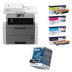 Brother DCP-9020CDW + Toners Brother + Inapa Tecno MultiSpeed
