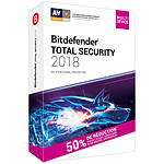 Bitdefender Total Security 2018 Attachement - Licence 2 Ans 10 Appareils