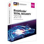 Bitdefender Total Security 2018 - Licence 2 Ans 10 Appareils