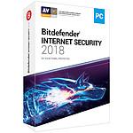 Bitdefender Internet Security 2018 - Licence 2 Ans 5 Postes