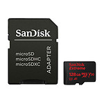 SanDisk Extreme Action Camera microSDHC UHS-I U3 V30 A1 128 GB + adaptador SD