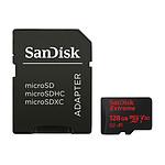 SanDisk Extreme Action Camera microSDHC UHS-I U3 V30 A1 128 GB + adaptador SD