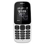 Nokia 105 Dual SIM Blanc (TA-1034)