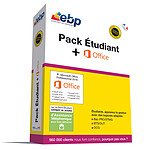 EBP Pack Etudiant + Microsoft Office Professionnel 2016