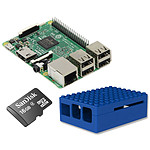 Raspberry Pi 3 Starter Kit (bleu)