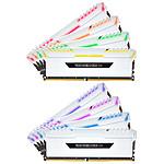 Corsair Vengeance RGB Series 128GB (8x 16GB) DDR4 3000 MHz CL16 - blanco