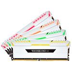 Corsair Vengeance RGB Series 32GB (4x 8GB) DDR4 3000 MHz CL16 - blanco