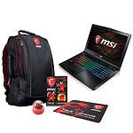 MSI GE62 7RE-021FR Apache + Pack MSI Back to School OFFERT !