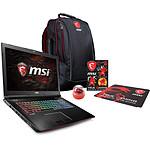 MSI GE72 7RE-066FR Apache + Pack MSI Back to School OFFERT !
