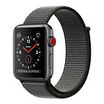 Apple Watch Series 3 GPS + Cellular Aluminium Gris Sport Olive 42 mm