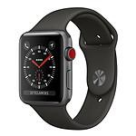 Apple Watch Series 3 GPS + Cellular Aluminium Gris Sport Gris 38 mm
