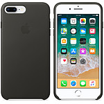 Apple Coque en cuir Anthracite Apple iPhone 8 Plus / 7 Plus