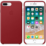 Apple funda en cuero (PRODUCT)RED Apple iPhone 8 Plus / 7 Plus