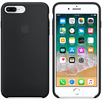 Apple Funda de silicona negra Apple iPhone 8 Plus / 7 Plus
