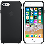 Apple Funda de silicona negra Apple iPhone 8 / 7
