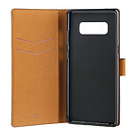 xqisit Etui Wallet negro Samsung Galaxy Note 8