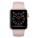 Apple Watch Series 3 GPS Aluminium Or Sport Rose 38 mm