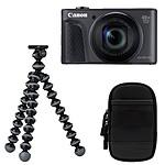 Canon PowerShot SX730 HS Noir Travel Kit
