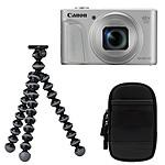 Canon PowerShot SX730 HS Silver Travel Kit