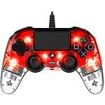 Nacon Gaming Illuminated Compact Controller Rojo