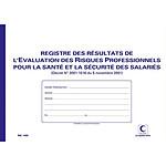Elve Registre Résultat de l'évaluation des risques professionnels 210 x 297 mm