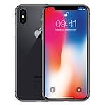 Apple iPhone X 256 Go Gris Sidéral - Reconditionné