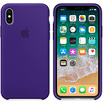 Apple Coque en silicone Ultraviolet Apple iPhone X
