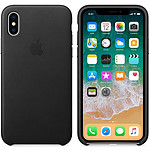 Apple Funda de piel Apple Negro Apple iPhone X