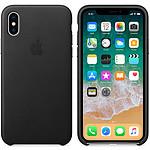 Apple Funda de piel Apple Negro Apple iPhone X