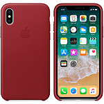Apple Coque en cuir (PRODUCT)RED Apple iPhone X