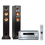 Yamaha MusicCast CRX-N470D Argent + Klipsch R-24F