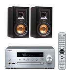 Yamaha MusicCast CRX-N470D Argent + Klipsch R-15M